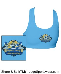 Support Your Team Bra Design Zoom